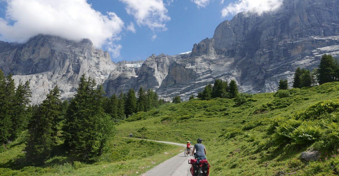 Met de fiets door de Alpen